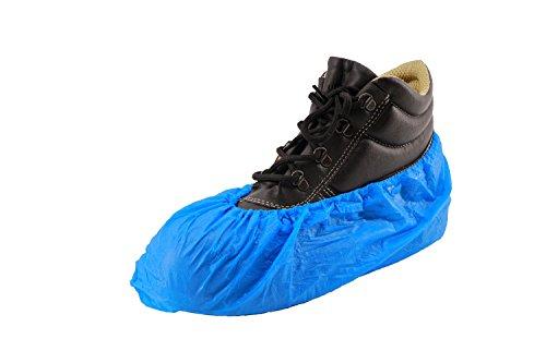 RMB Einweg Arbeits Schuh Überzug blau 100 Stück im Paket extra stark (2 x 100er Pack)