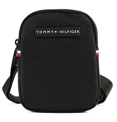 Tommy Hilfiger Herren Compact Crossover Laptop Tasche, Schwarz (Black), 2x17x13 cm