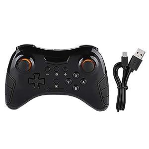 Taidda Gamecontroller-Joystick, kabelloser Bluetooth-Joystick mit Gamecontroller-Griff für Nintendo Switch Pro
