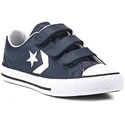 Converse Zapatillas Star Player 3v Navy / White 32 Junior