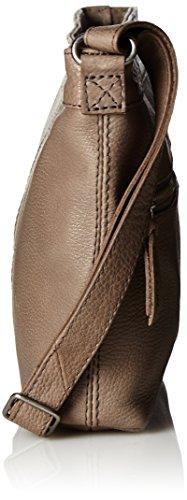 Amsterdam Cowboys Bag Taunton, Sacs portés épaule Gris - Grau (Grey 140)