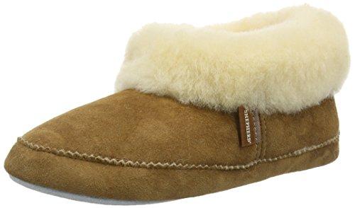ShepherdEmmy - Pantofole Donna , Beige (Beige (chestnut)), 39