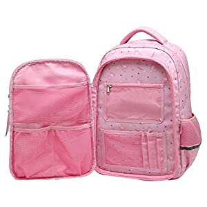41jhK%2BfKwfL. SS300  - SellerFun UKXB106 - Mochila Infantil Niños, 22 L Style B Pink (Rosa) - UKXB426E1