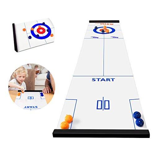 Jhua Mini Desktop-Eishockey, Interaktive pädagogische Spielzeuge für Kinder, Dekompressionsspielzeug für Erwachsene
