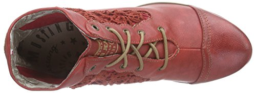 Mustang 1187-501-5, Bottes Classiques femme Rouge (5 Rot)