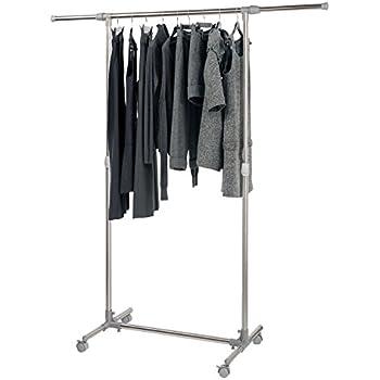 Oramics Kleiderständer Auf Rollen Garderobenständer   Höhenverstellbar 97    165 Cm Und Breitenverstellbar 87   150