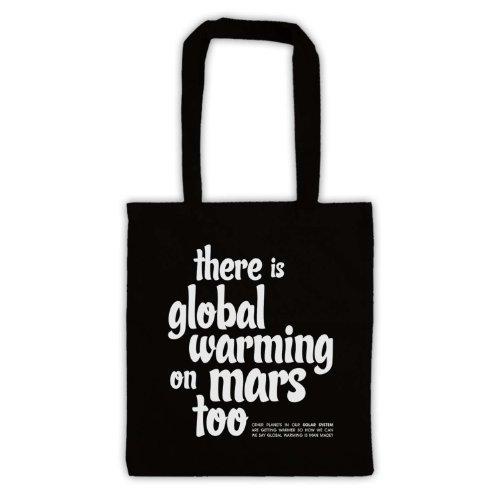 Esiste riscaldamento globale On Mars troppo Protest Tote Bag Nero