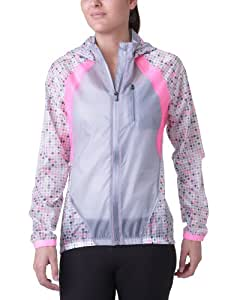 Under Armour Fly-By Lightweight Jacket Veste capuche manches longues de Running femme Steel XS