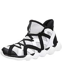MEIbax Scarpe da Ginnastica Traspirante Sneakers Traspirante Uomo Mesh Lace- Up Sneakers Running Sportive Scarpe 60f8ba0a806