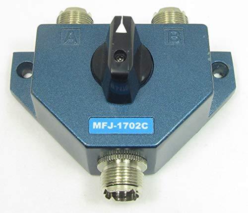 Setzt eine zu verkaufen? Vendine ein gleich Details auf Antenne Switch, 2POS. W/LIGHTNING PROTECTOR mfj-1702C Mfj Antenna Switch