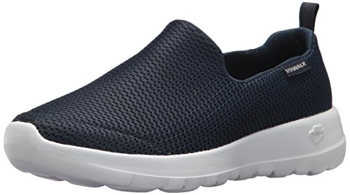 Skechers Damen Go Walk Joy Slip On Sneaker, Blau (Navy/White), 40 EU (Schuhe Skechers Damen White)