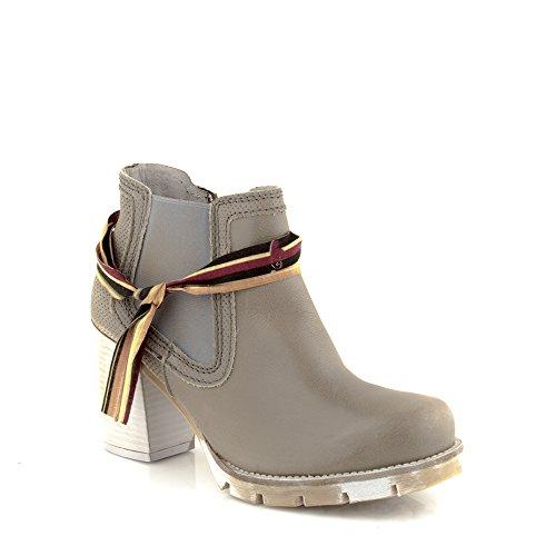 Felmini - Scarpe Donna - Innamorarsi com Portalegre 8716 - Stivaletti con tacco - Pelle Genuina - Multicolore Multicolore