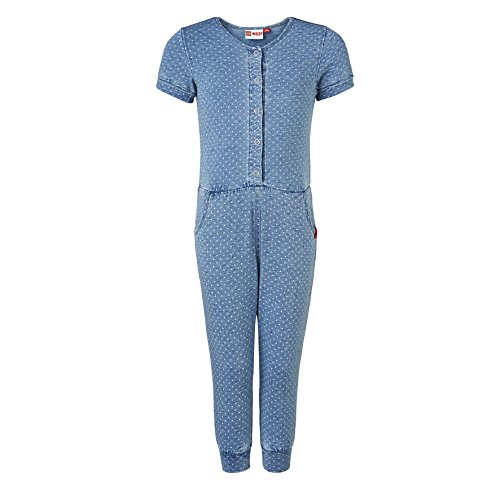 LEGO Wear Mädchen Overall duplo DEENA 302 - JUMPSUIT, Gr. 104, Blau (Light Denim 33)