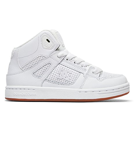 DC Shoes Pure High-Top - High-Top Shoes - Hi Tops - Jungen - EU 28.5 - Weiss (Jungen Dc Pure Schuhe)