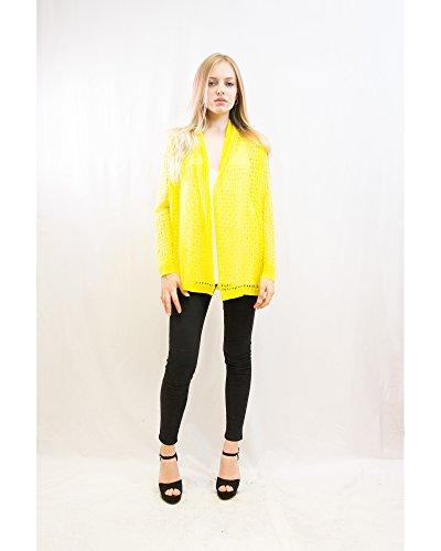 Exceptional Products - Gilet - Femme taille unique Jaune