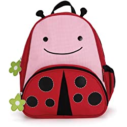 Skip Hop Zoo Pack - Mochila, diseño lady bug, color rosa