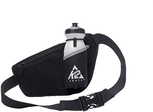 K2 Tasche FIT Belt, Schwarz/Silber, 40 x 20 x 30 cm, 1 Liter, 3051302.1.1