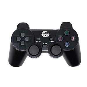 2.4GHz Drahtlos Zwei Vibrationen Gamepad / Spiel Joypad-Steuerung für PS2/PS3/PC (Windows 7/8/10) / iCHOOSE