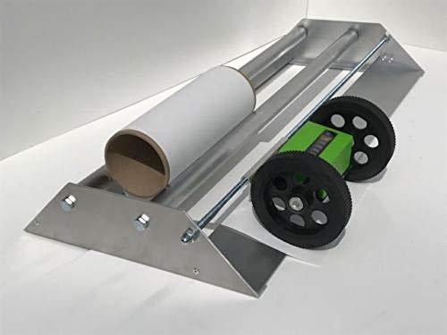 Tapetenabroller Tapeten Abroller 60-115 Metzähler Tapeziergerät Tapeziermaschine (115 cm)