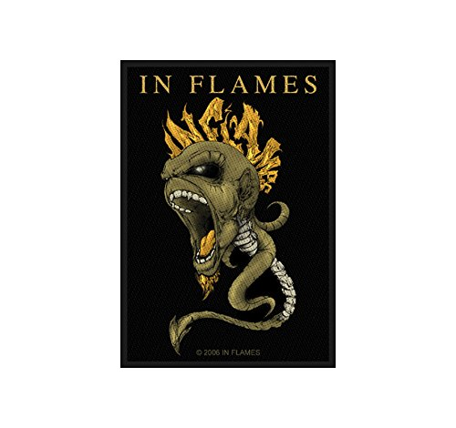 In Flames-Spine [Patch/Toppa, Tessuta] [sp2108]