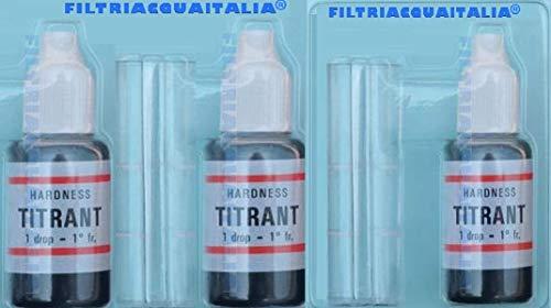 Titrant 3 Kit análisis dureza agua grados francesas-Comprobador