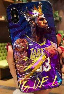 Art Design Hülle für iPhone XR Lebron James 23 Lakers Basketball NBA Soft Silikon