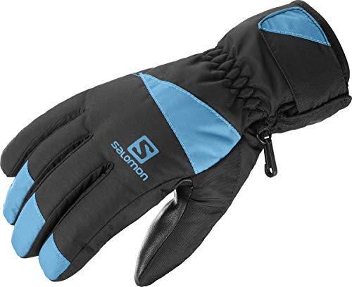 SALOMON Force M, Guanto da Sci e Snowboard Uomo, Multicolore (Black/Fjord Blue), XXL