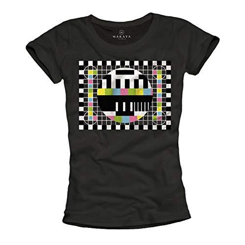 Sheldon Shirt für Damen TESTBILD schwarz Größe M (Sex In The City Schuhe)