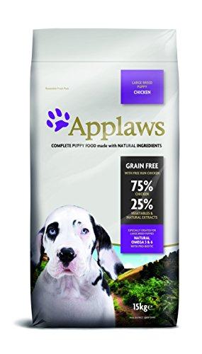 Applaws Hund Trockenfutter Puppy Large Breed Huhn, 1er Pack (1 x 15 kg)