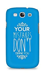 AMEZ your mistakes dont define you Back Cover For Samsung Galaxy S3 Neo