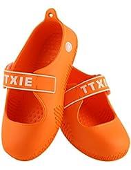Wiederverwendbare Schuhabdeckung Anti-Rutsch-Überschuhe Schützende Stiefel-Ausrüstung, wasserdichte Schuh-Abdeckungen für Wasser-beständiger Regen-Schnee, Arbeitsplatz, Teppichboden-Schutz