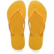 Damen Sandalen Havaianas Brasil Flip Flop Sandals - Gelb - 37-38 CPQilRsk2