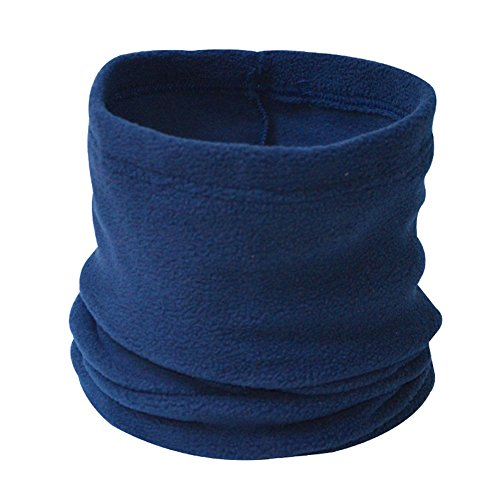 ANSUG Calentador de Cuello Unisex Polar Fleece Neck Scarf Multi Use Neck Scarf, pasamontañas, Gorro...