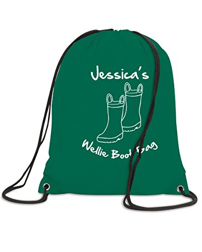 Wellie Boot Drawstring Bag Wellington Boots School Kids Children Girl Boy Gift