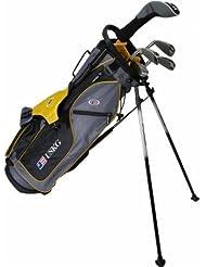 "US Kids Golf Ultralight Series Set 63"", 156cm - 162cm, Age 11-13 years, golf clubs for kids, Golfschläger für Kinder/Jugendliche, Fairway Driver, Iron/Eisen 6,8, Pitching Wedge, Putter, Bag, maximum distance and control, soft feel, lightweight, stainless steel"