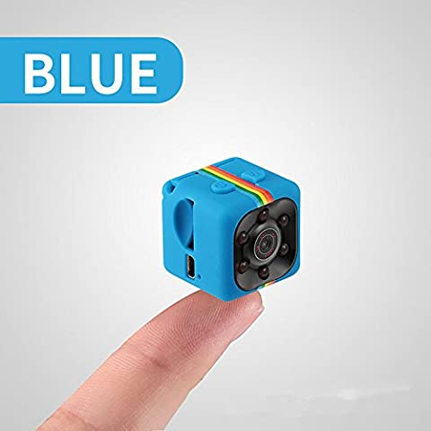 Super Mini versteckte Kamera, iMusk 1080P tragbare Action Video Recorder DV mit Nachtsicht für Indoor & Outdoor Use (Blau)