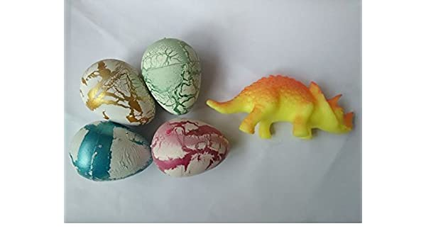 Plastic Large Growing Dino Egg 2.5inch Dinosaur Eggs Add Water for Kids Toys