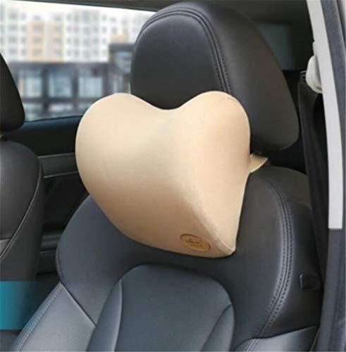 ELEGENCE-Z Memory Cotton Car Seat Nackenkissen Unterstützung Geeignet für Autofahren Travel Set - Komfortabel und Atmungsaktiv (25 * 10 * 22 cm)