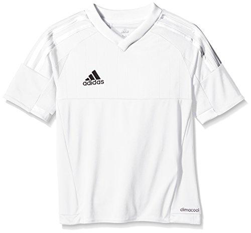 Adidas Tiro 15 Maglietta Bambino Bianco (Bianco/Bianco)