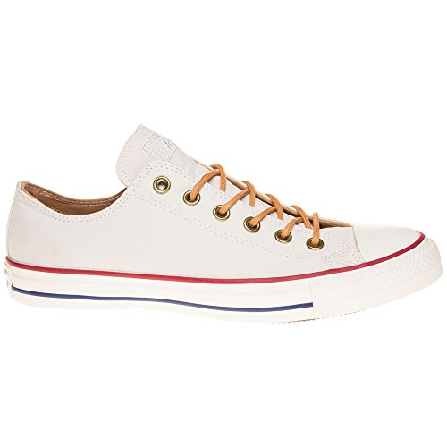 Converse All Star Ox Homme Baskets Mode Blanc WHITE|NATURAL