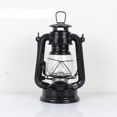 Rétro lampe au kérosène nostalgique, lampe à porc à main, phare de masthead, lumières de camping extérieurs, feux de tentes, feux de camp, mèches à entonnoir