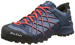 Salewa Men's Ms Wildfire GTX Low Rise Hiking Shoes, Blue (Dark Denim/Papavero 8673), 10.5 UK (B077S4MQJK) | Amazon price tracker / tracking, Amazon price history charts, Amazon price watches, Amazon price drop alerts