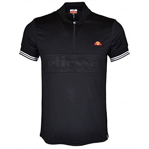 ellesse Herren T-Shirt schwarz schwarz Schwarz