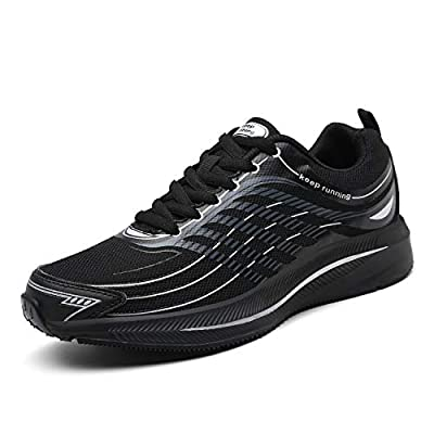 SOLLOMENSI Running Shoes Mens Trainers Lightweight Outdoor Sports Shoes Athletic Gym Fitness Walking Run Jogging Walking Casual Sneakers