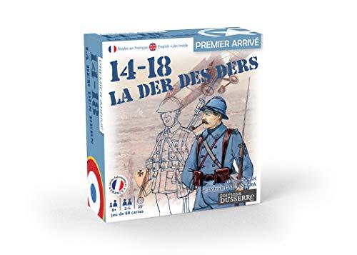 Editions Dusserre-14-18 Ders-Jeu de Bataille, 130006679, Première Guerre Mondiale