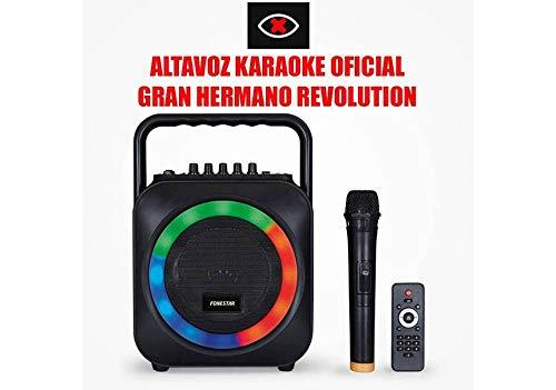 KARAOKE PORTATIL CON 2 MICROFONOS USB/SD/MP3 BOX-35LE