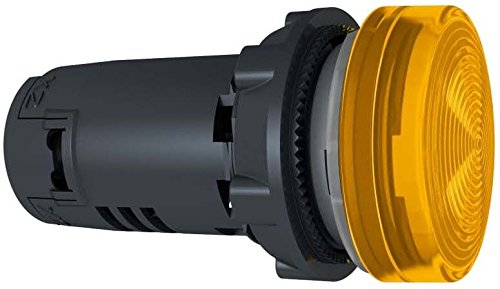 Schneider XB7EV08BP Runde Meldeleuchte Durchmesser 22, orange, Integral LED, 24 V, - Led-meldeleuchte