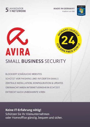 Avira Small Business Security – 5 Anwender, 1 Netzwerk – 24 Monate