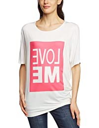 Compagnia Italiana - Camiseta de manga corta para mujer, talla 40, color rojo (fuxia)
