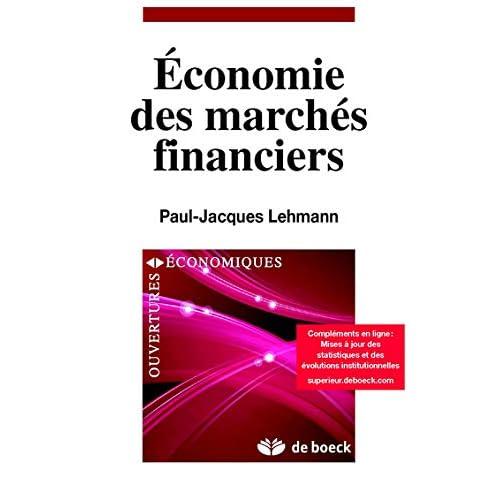 Economie des marchés financiers